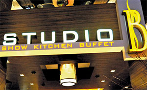 STUDIO B BUFFET
